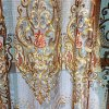 imperial embroidered organza gold